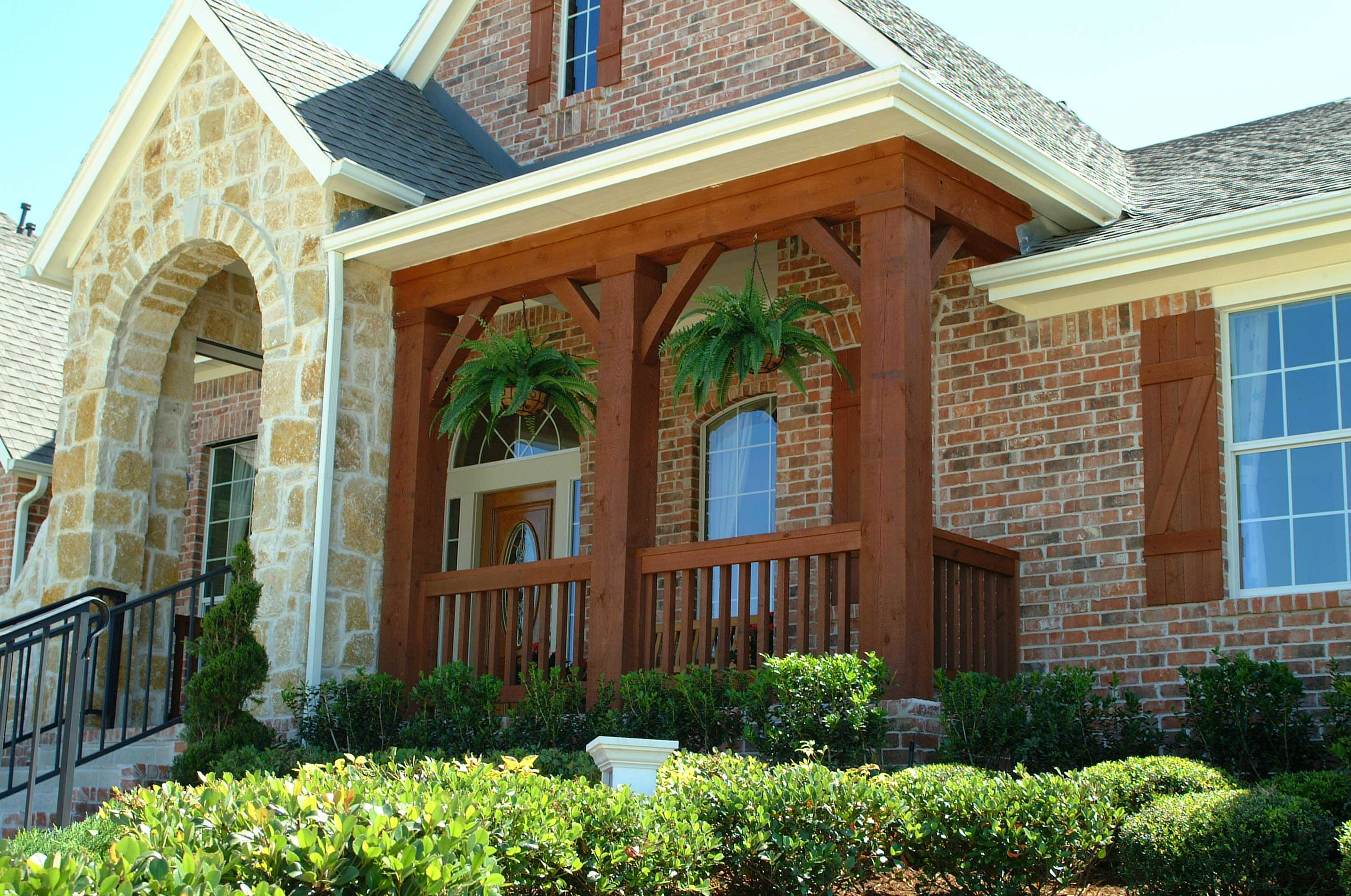 Exterior house painting sealant specialists stain and seal company dfw dallas - Exterior home painters ...