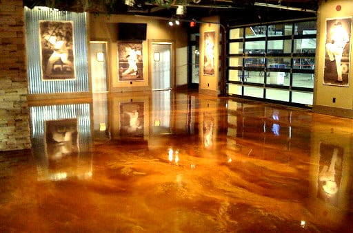 Concrete Stain Commercial Indoors