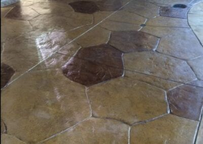 Patio Concrete and Stone Stain and Seal