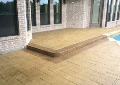 Patio Stone Restoration and Seal